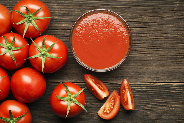 Tomato Face Pack