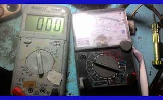 Alat Uji dan Ukur Avometer Multitester Multimeter