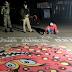 চিএ অঙ্কনের মাধ্যমে করোনা মোকাবিলায় পানিসাগার আরক্ষা দপ্তরের অভিনব উদ্যোগ