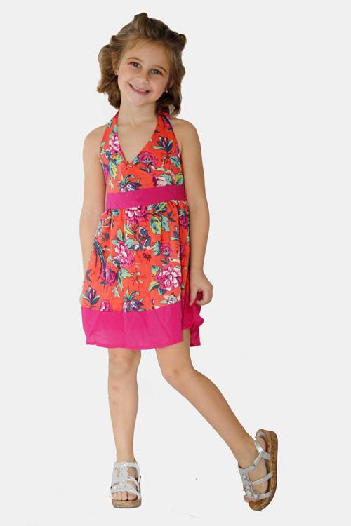Moda para niñas primavera verano 2018 vestidos.