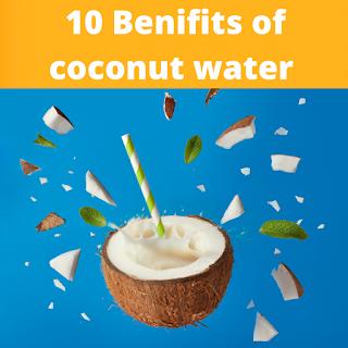 benifits of coconut water