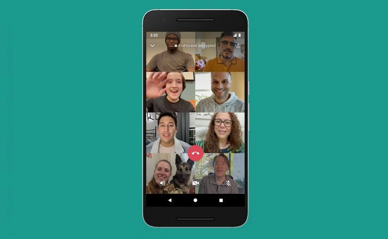 Video Call WhatsApp Bisa 8 Orang Sekaligus (twitter.com)