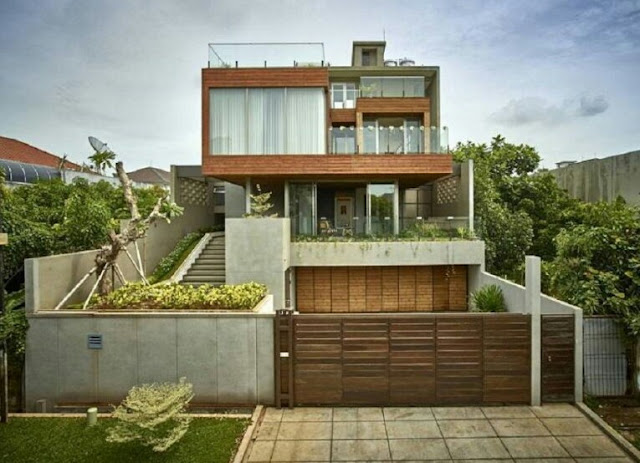 Japanese Two-Story House Design