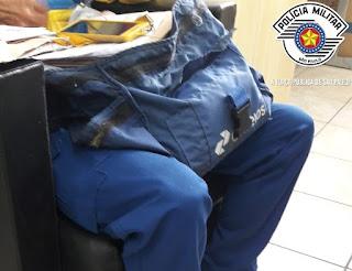 POLÍCIA MILITAR PRENDE HOMEM POR FURTO DE CARTEIRO EM REGISTRO-SP