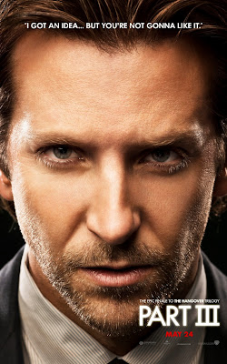 The Hangover Part III Portrait Character Movie Posters - I Got An Idea...But You're Not Gonna Like It - Bradley Cooper as Phil