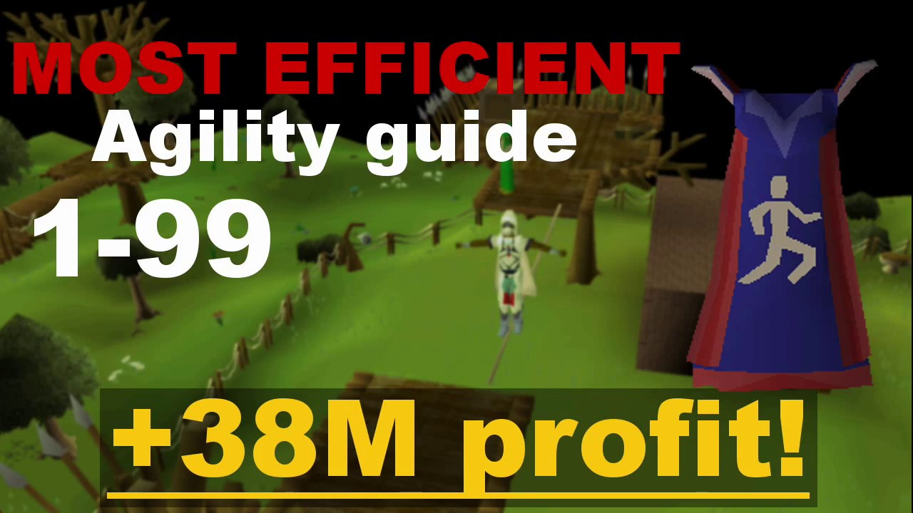 1 99 Agility Osrs Guide 2017 Rs3 Gnome Course Calc Wilderness