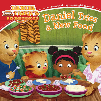 Daniel Tries A New Food, part of children's book review list about picky eaters