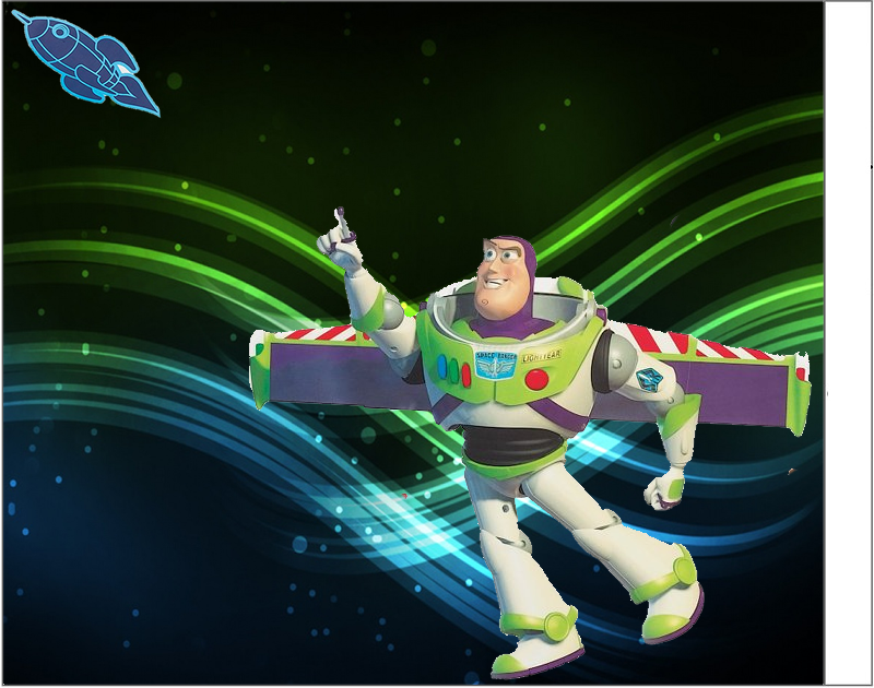 Etiquetas de Buzz Light Year.