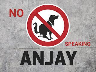 """Anjay """"gambar tulisan dan arti anjay"""""""