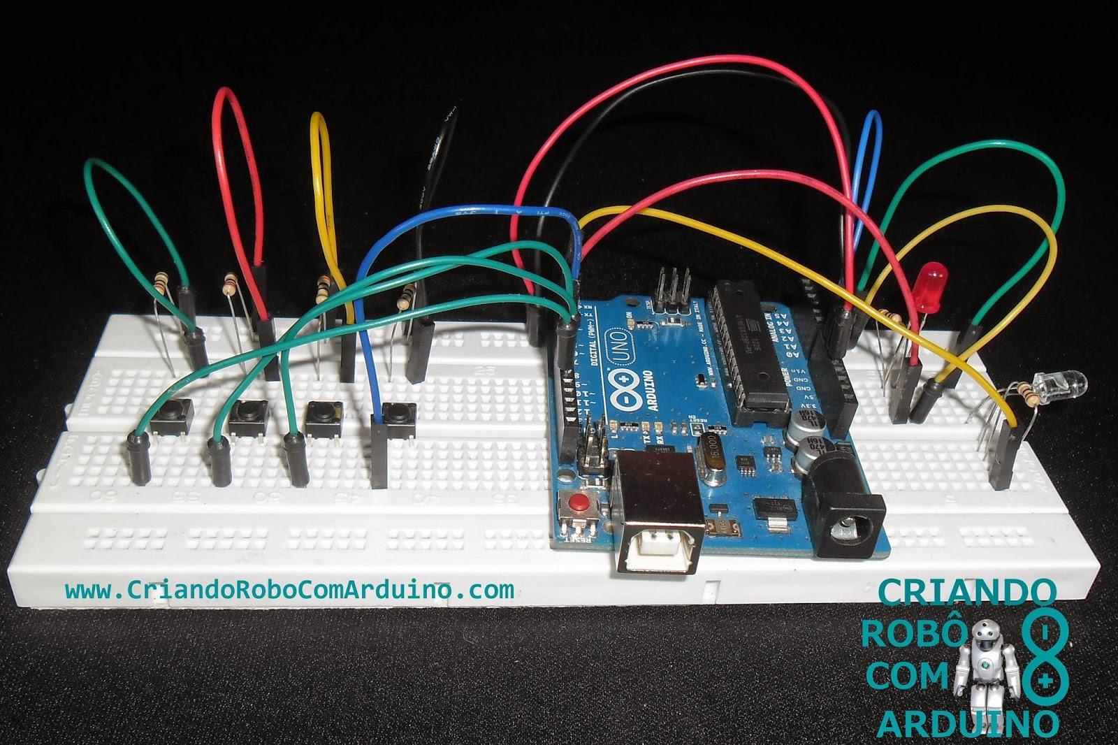 Criando robô com arduíno como fazer um controle remoto