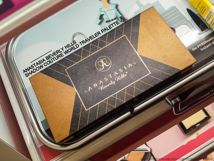 Anastasia Beverly Hills Shadow Couture World Traveler Palette - Swatches