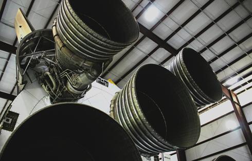 Saturn V Rocket Space Center Houston