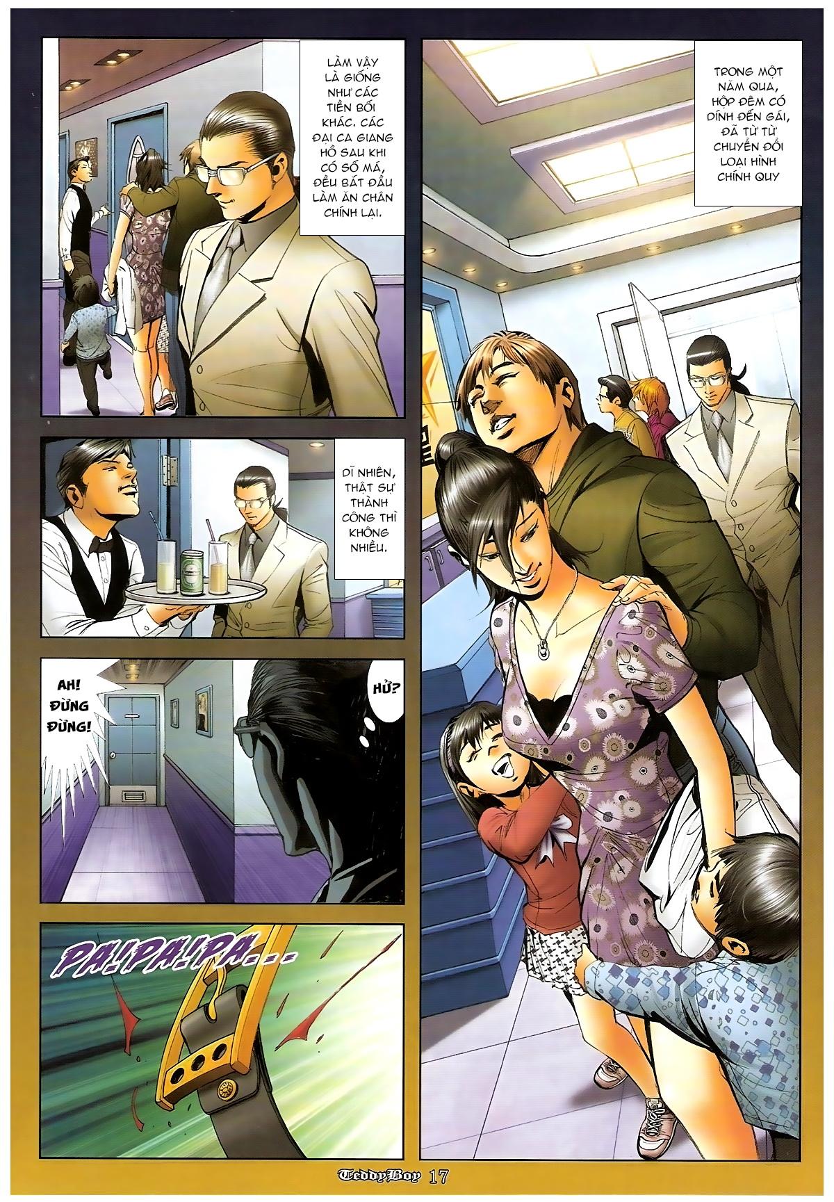 Người Trong Giang Hồ - Chapter 1265: Bát vàng rửa tay - Pic 16