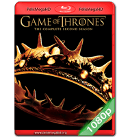 GAME OF THRONES: SEGUNDA TEMPORADA COMPLETA (2012) FULL 1080P HD MKV ESPAÑOL LATINO