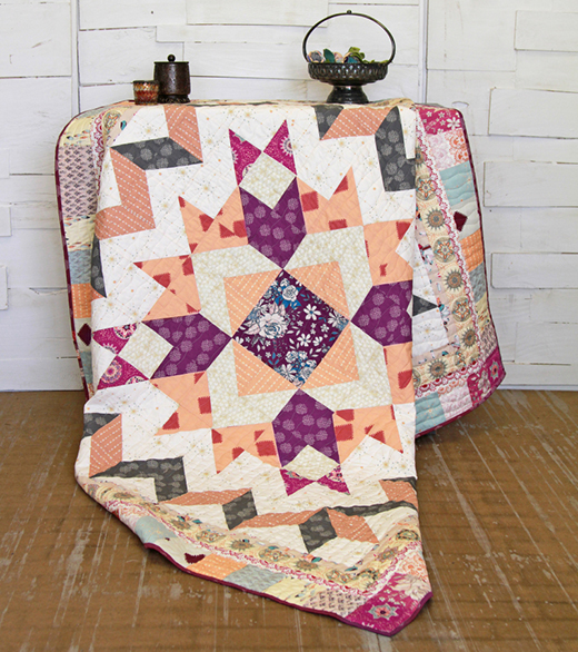 Mandala Dreams Quilt Free Pattern