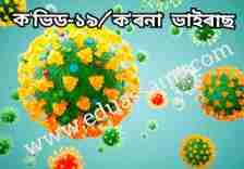 which causes the coronavirus in assamese,ক'ৰনা ভাইৰাছ বা ক'ভিড-১৯ কি,Class 10 essay of covid-19 in Assamese,Assamese,covid-19 assamese,coronavirus ৰচনা,