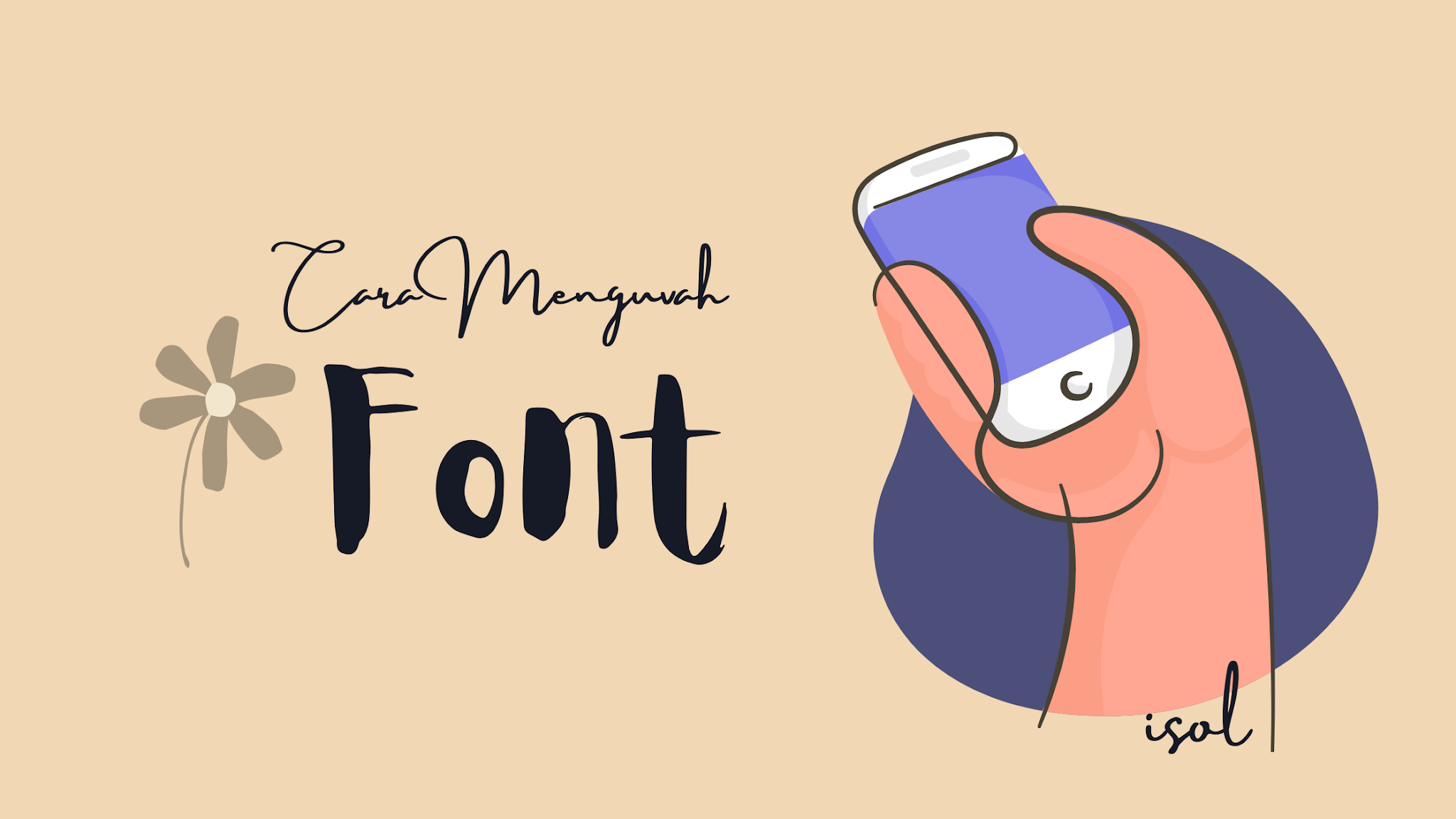 Mengubah Font Tulisan Xiaomi