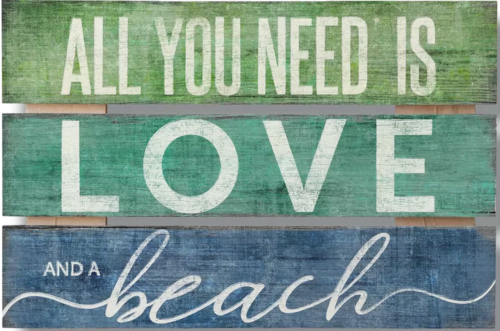All You Need Is Love And A Beach