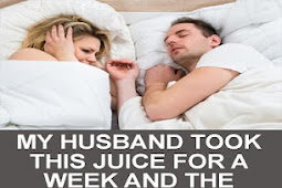 Anti- Snoring Juice, The Drink Your Partner Should Drink To Avoid Snoring At Night