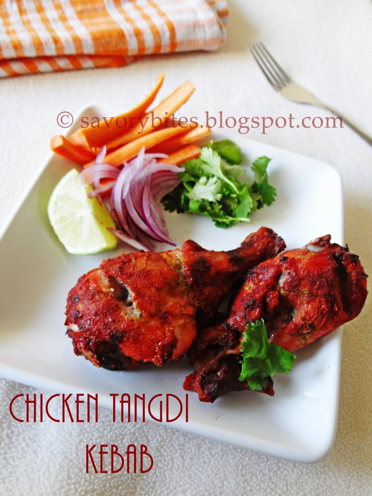 Chicken Tangdi Kebab Non-vegetarian Straters