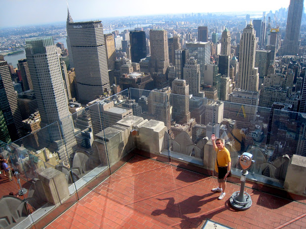 New York Top of the Rock Observation Deck