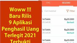 9 Aplikasi Penghasil Uang Terlegit Baru Rilis Bulan Ini 2021 Terbukti Membayar