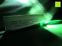 """Material: VON LILIENFELD grüner Regenschirm mit Tiermotiv """"Schattenfrosch"""""""