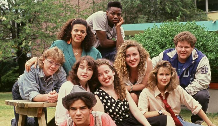 A Vintage Nerd, Pop Culture, Degrassi Junior High, 1980s TV