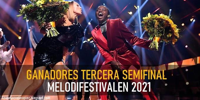CHARLOTTE PERRELLI Y TUSSE GANAN LA TERCERA SEMIFINAL DEL MELODIFESTIVALEN 2021