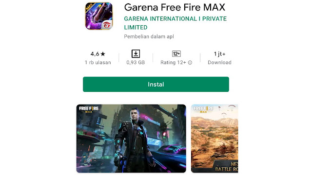 Download Free Fire Max Terbaru 2020 Play Store