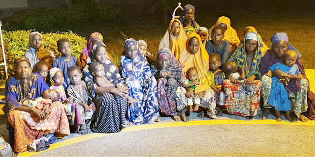 Nigeria: Thirty kidnapped victims after their release by bandits