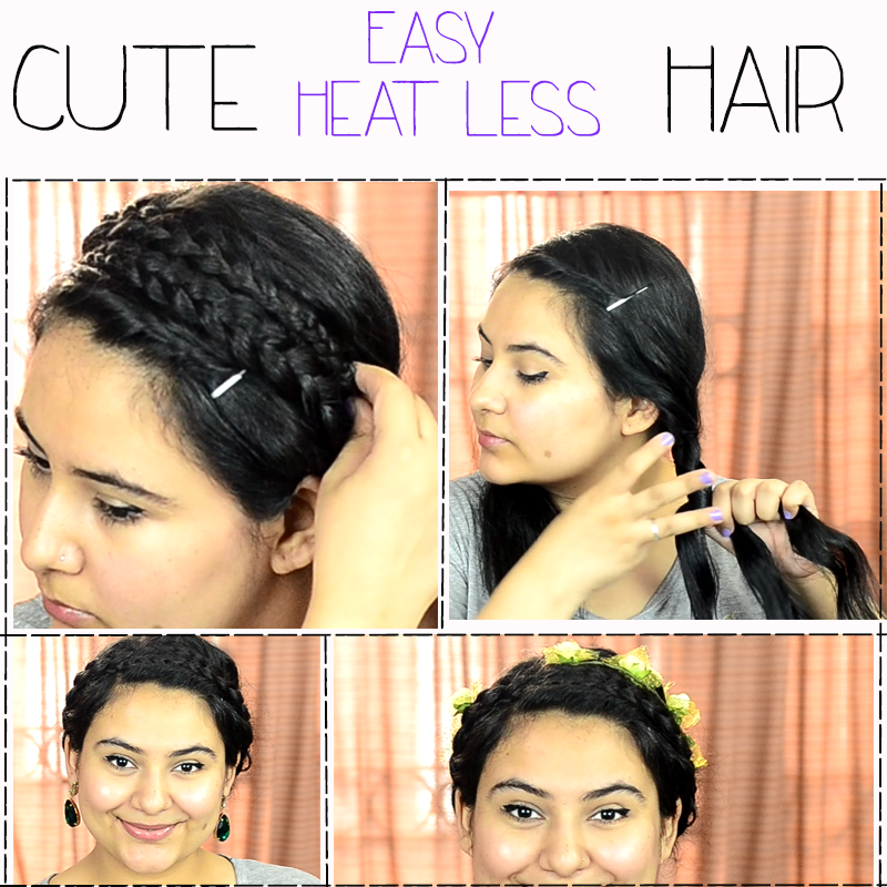 Outstanding Easy And Quick Cute Summer Hairstyle Delhi Fashion Blogger The Short Hairstyles Gunalazisus