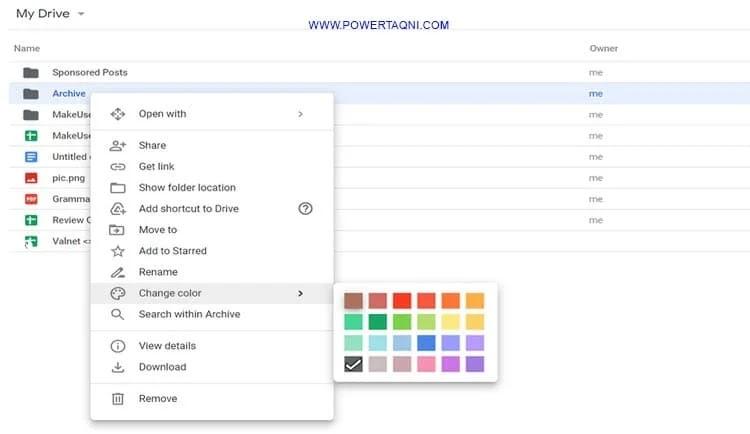 10 نصائح وحيل في Google Drive ستتمنى لو عرفتها منذ زمن تخصيص واجهة محرك الأقراص 10-Tips-and-Tricks-in-Google-Drive