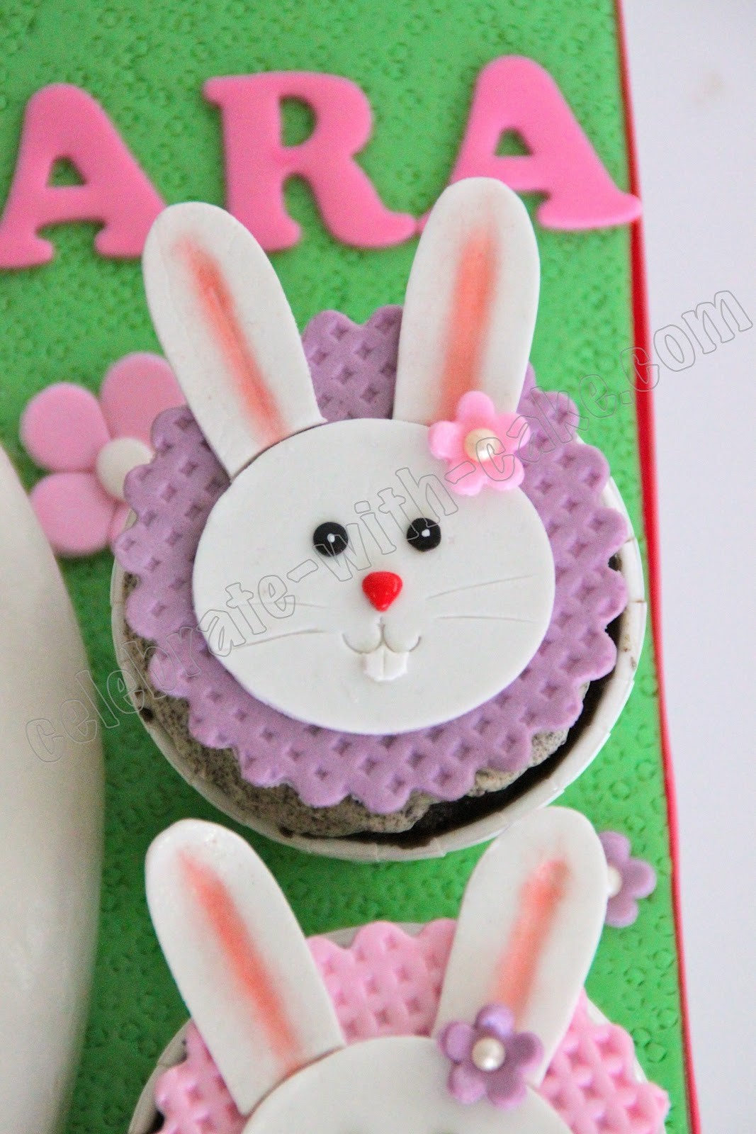 Bunny Cake And Cupcakes