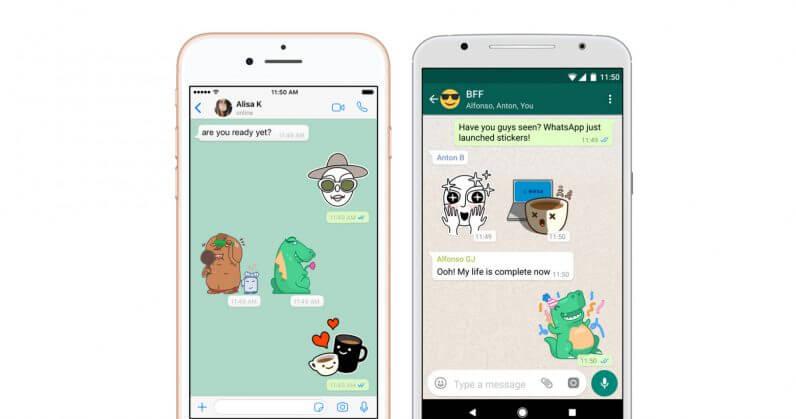 Anda Kini Boleh Hantar Sticker Menggunakan Whatsapp