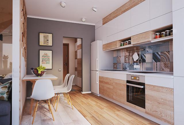 Thiết kế chung cư đẹp - Mẫu số 22