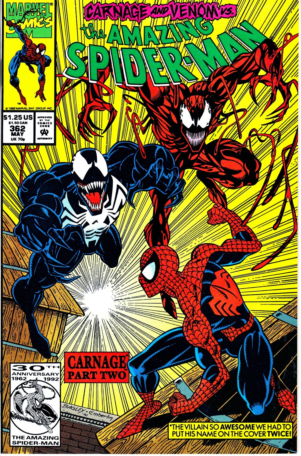 Amazing Spider Man 1st Series 362 May Issue