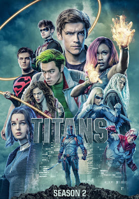 Titans (TV Series) S02 DVD R1 NTSC LATINO 3DVD