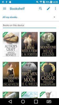 تحميل افضل قارئ كتب للهواتف الاندرويد , Ebook Reader