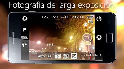 Camera FV-5 es una Aplicación de Cámara profesional