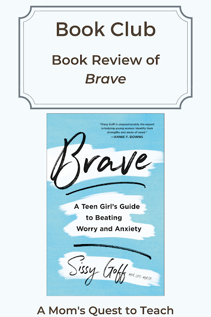 Book Club: Book Review of Brave; A Mom's Quest to Teach Brave book cover