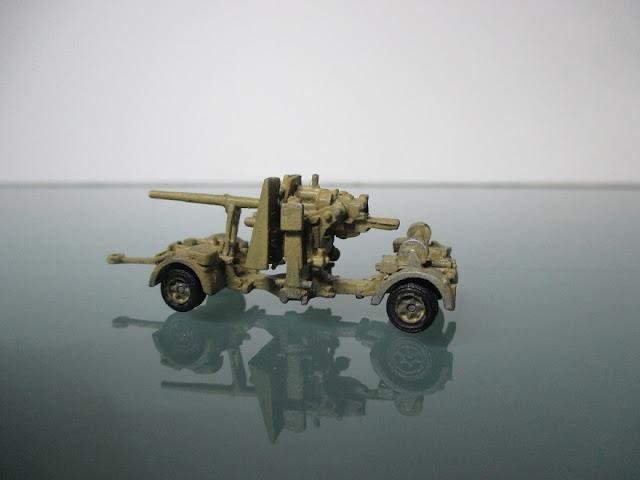 1/144 Sdkfz 7 Flak 88 tractor diecast aircraft