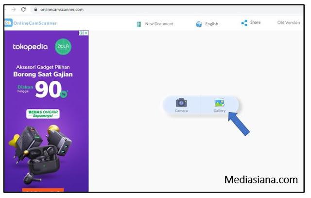 Cara Scan Dokumen Secara Online Mudah Banget