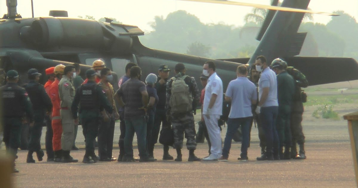 FAB encontra helicóptero desaparecido entre Jacareacanga e Itaituba