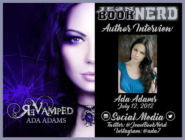 Ada Adams Author Interview Jean Booknerd