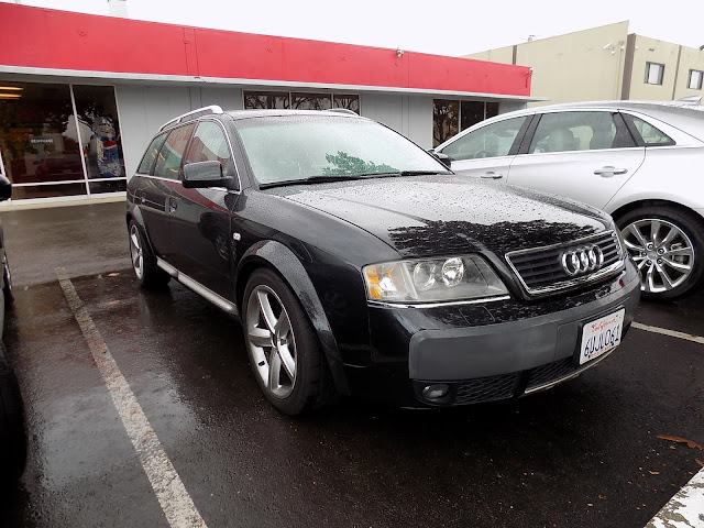 2004 Audi Allroad before color change at Almost Everything Auto Body.