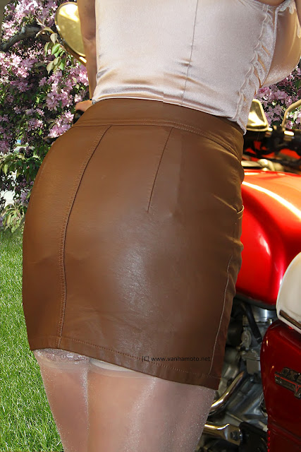 nahkahame leather skirt sexy