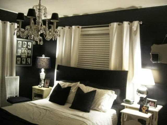 wall colors for dark bedroom furniture