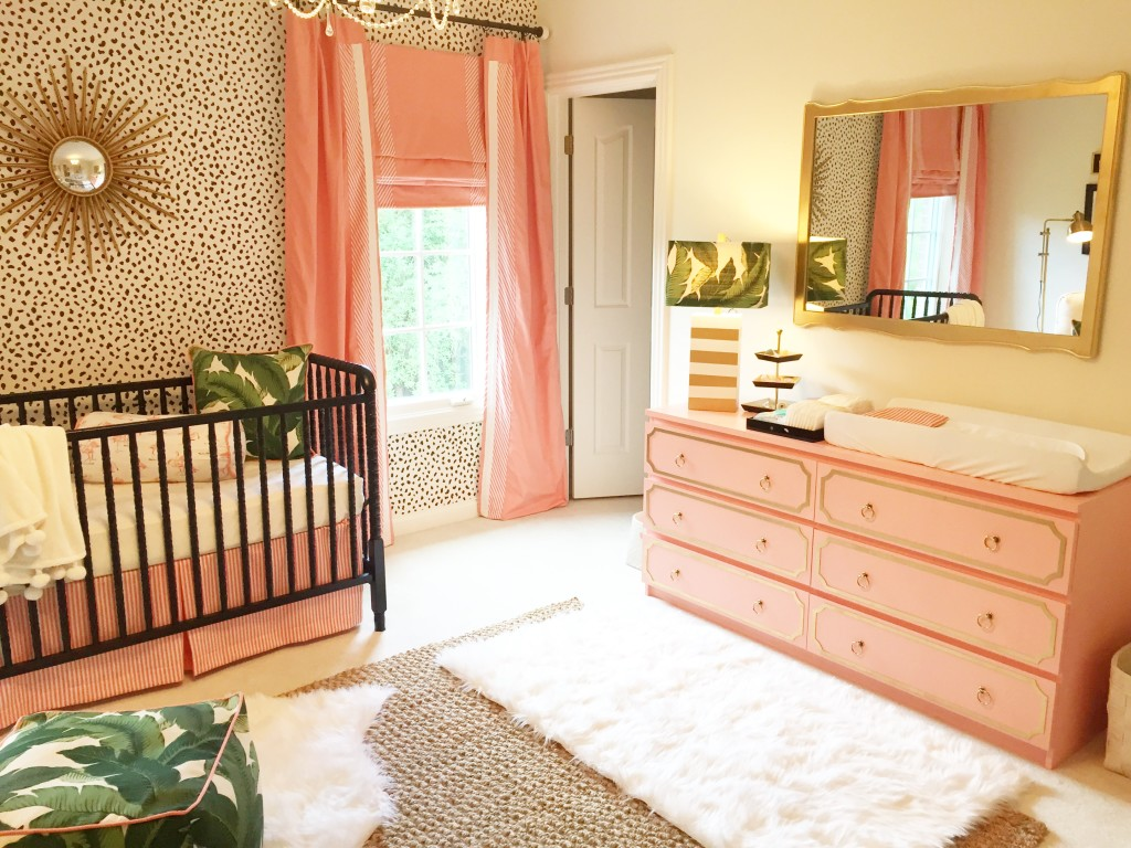 A Palm Beach Inspired Nursery The Glam Pad