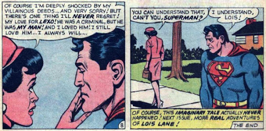 Lois Lane #65, Lois can never love again
